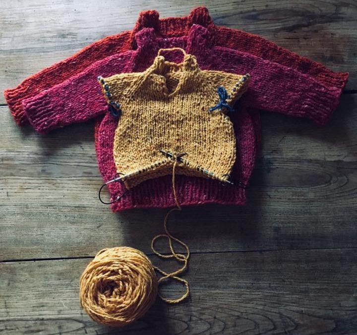 """knitting retreat"" con giulia wool done"