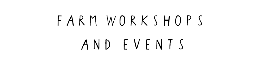 farm workshops and events